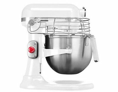 KitchenAid Heavy Duty 220 Volts 7 QT Commercial Mixer 5KSM7990XEWH  Export Only