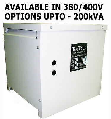 3 Phase 415V/380V European/Korean/Chinese step down transformer 80kVA