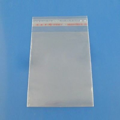 200pcs Self Adhesive Plastic Bag Clear Jewelry Packaging Small Zip Baggies Gift