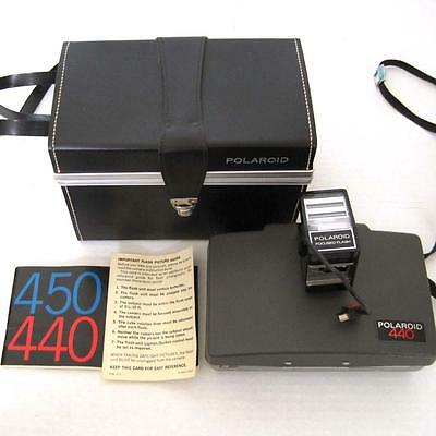 Vintage polaroid photoelectric shutter #440 with manual, retail.