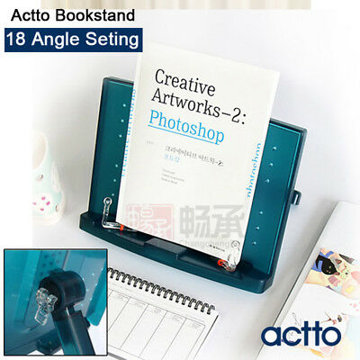 Actto Adjustable Music Cook Book Document Reading Desk Stand Holder