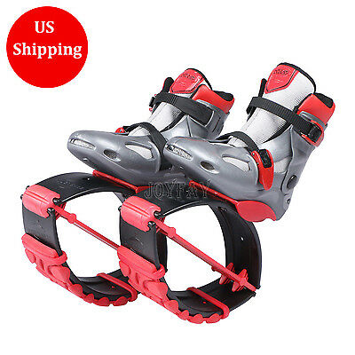 Kangoo Jumps Boots Red Unisex Fitness Shoes Jumping Shoes Bounce Shoes