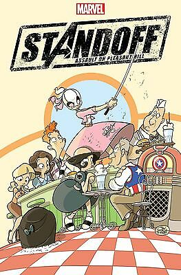 Avengers Standoff Assault On Pleasant Hill Alpha #1 Party Variant Gwenpool