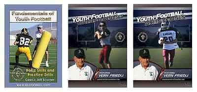 Football Instructional DVDs - Buy 2 DVDs get 1 free  - Also Free Shipping!!