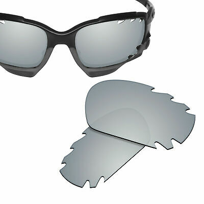Polarized Replacement Lenses for Jawbone Vented/Racing Jacket Sunglasses Silver