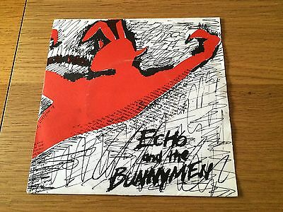 "Echo & The Bunnymen - The Pictures On My Wall - 1979 7"" P/s Zoo Look In My Shop!"