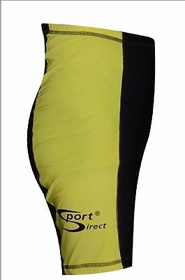 Sport DirectTM Bicycle Gents Cycling Shorts Black/Yellow Small