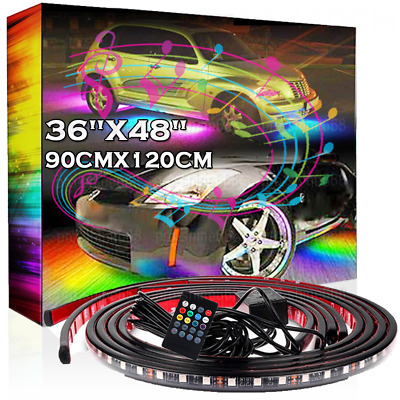 RGB Color Changing Fading Function LED Underbody Under Car Light Auto  General