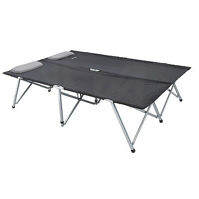 Outwell Posadas Double Instant Folding Camp Bed - No Assembly Required - RRP £90