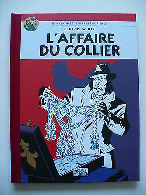 RE vintage (état neuf) - Blake & Mortimer (Le Soir) - L'affaire du collier