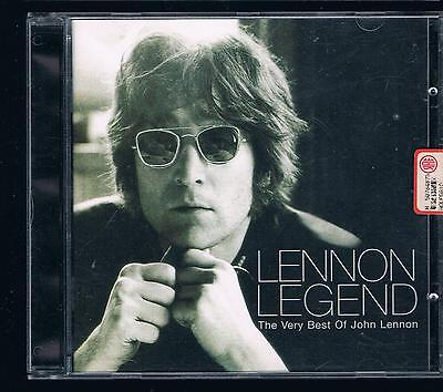 John Lennon Lennon Legend  Cd Made In Italy F.c.
