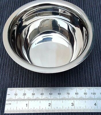 German Stainless Steel Shaving Bowl by Windrose