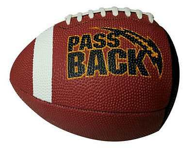 Passback Sports Youth Junior Size Passback Rubber Football, Ages 9-13, PB6R