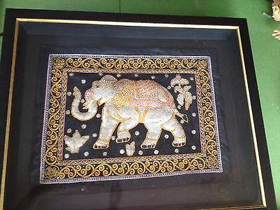 Elephant in a Picture Frame