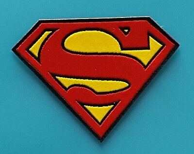 Ecusson (Patch) / Thermocollant / Super Man / Taille 8,5 X 6,5 Cm