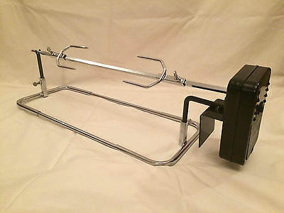 BBQ Grill Top Rotisserie Spit and Shish Kebab Barbecue Barbecue *SALE*