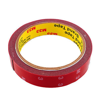 New Permanent 3M Double Sided Super Adhesive Tape Versatile Home 20mm