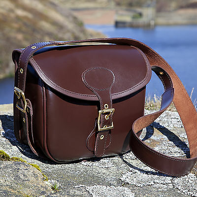 New Leather Cartridge Shooting Bag OUT OF STOCK