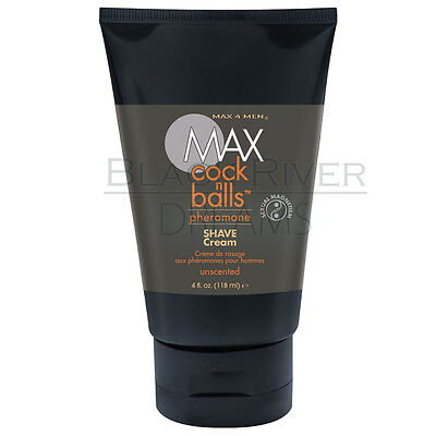 Cock N Balls Pheromone Shave Cream Smooth Slick Max 4 Men 4 Ounce Unscented