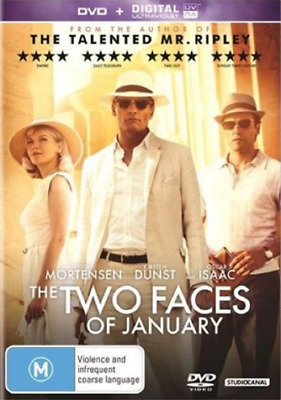Two Faces Of January DVD R4