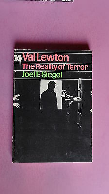(R6_4_04) Val Lewton - The Reality of Terror (Cinema one, 22) Paperback – 1972