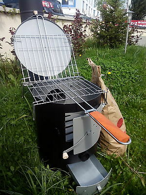 Wood Burning Stove Camping Barbecue Workshop Garage Garden Stove Grill 5 KW