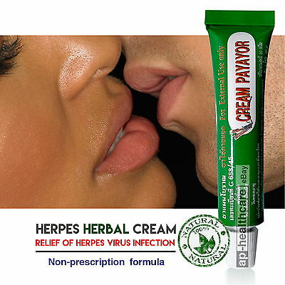 Herbal Cream Herpes Simplex Virus Zoster Shingle Cold Sore Mouth Genital Herpes