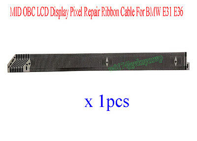 MID OBC LCD Display Pixel Repair Ribbon Cable For BMW E31 E36 8 11 18 Button DIY