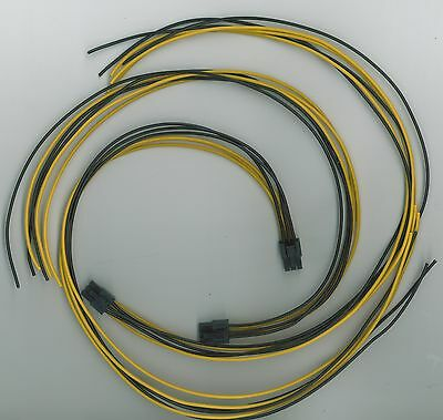 10 piece Power LEAD SET kit for Antminer S7 S9 Bitcoin ant miner Made in the UK