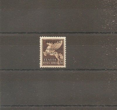 Timbre Fezzan Italian Colony Occupation Francaise Pa N°1 Neuf** Mnh Signe A Brun