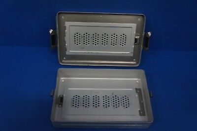 Aesculap DEGM Steril Sterilization Container Surgical Cases  5in. x 11in.