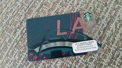 Starbucks 2015 LOS ANGELES CARD-STAPLES CENTER  - Special Addition - No value