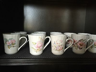 Queensway , fine bone china  MUGS made in Staffordshire , England .