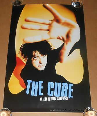 The Cure Wild Mood Swings Poster Original 1996 Promo 30x20
