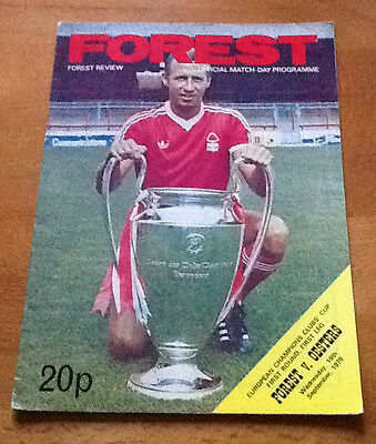 Notts Forest Oesters 19/9/1979 European Cup