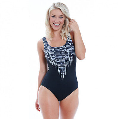 NEW Zoggs Womens Native Chic Scoopback from Ezi Sports Store