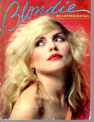 Blondie By Lester Bangs Rare 1980  Book  1St Edition