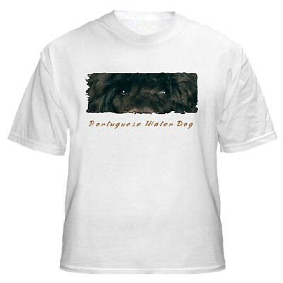 """Portuguese Water Dog    """"The Eyes Have It """"    Custom    T shirt"""