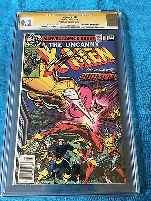 Uncanny X-Men #118 - Marvel - CGC SS 9.2 -Signed by Chris Claremont - 1st Mariko