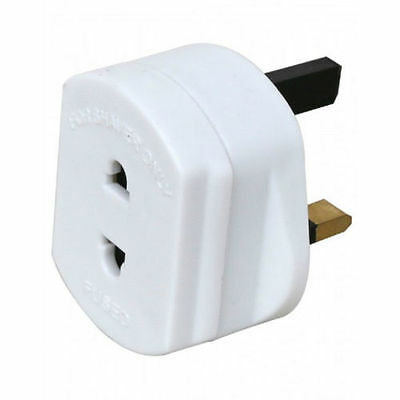 New Shaver Plug Adaptor For Shaving / Toothbrush Adapter