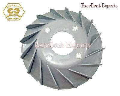 Vespa VBB 12 Volt Flywheel Fan Cover Grey Primed Free Shipping