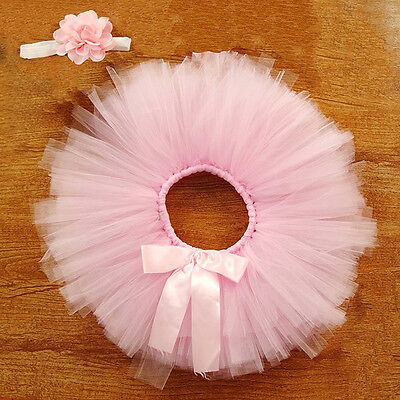 Beauty Girls Skirt Tutu Clothes Knitted Crochet Photo Prop Outfits