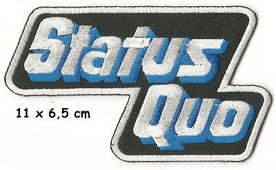 Status Quo - logo patch - FREE SHIPPING