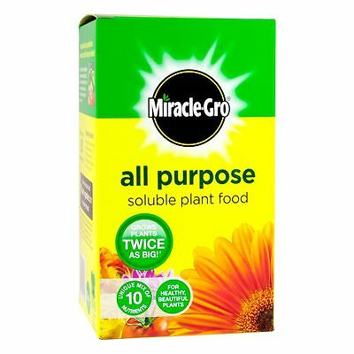 MIRACLE-GRO GROW ALL PURPOSE PLANT FOOD Indoor Outdoor Pots Baskets Beds Lawn