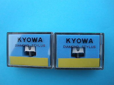 A Pair of KYOWA Replacement Diamond Styli for STANTON 500