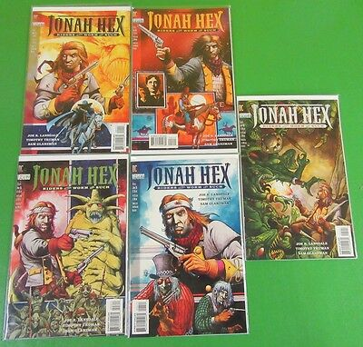 Jonah Hex Riders of The Worm and Such #1-5 Complete Mini Series DC - Vertigo
