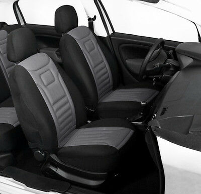 2 Grey Front Car Seat Covers Protectors For Suzuki Jimny