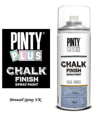 NEW - Pinty Plus CHALK Paint Spray - Ideal for Furniture & Craft Projects