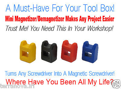 Magnetizer Demagnetizer Screwriver Magnetic Tips Screw Magnetic Tool