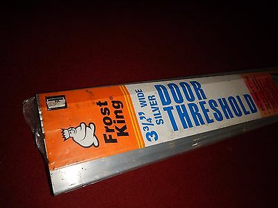 "Frost King DT36HRA 3-3/4"" By 36"" Aluminum Threshold Heavy Duty Silver"